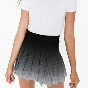 American Apparel Gabardine Tennis Skirt